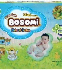 Bosomi Natural Cotton NB (0-5 кг) 30 шт