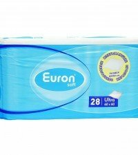 Euron Впитывающие простыни Soft Ultra 60-60 28шт.