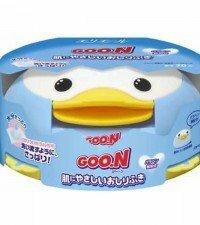 Салфетки Goon влажные для младенцев в пластиковой коробке (70шт)