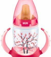 NUK First Choice бутылочка пласт. (ПП) 150 мл с насадкой для питья латекс