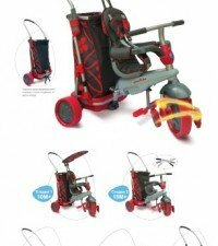 Велосипед 3-х колесный Smart Trike & Go Touch Steering 5в1